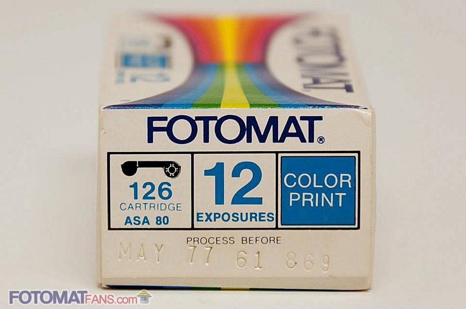 126 cartridge - ASA 80 - 12 exposures - color print