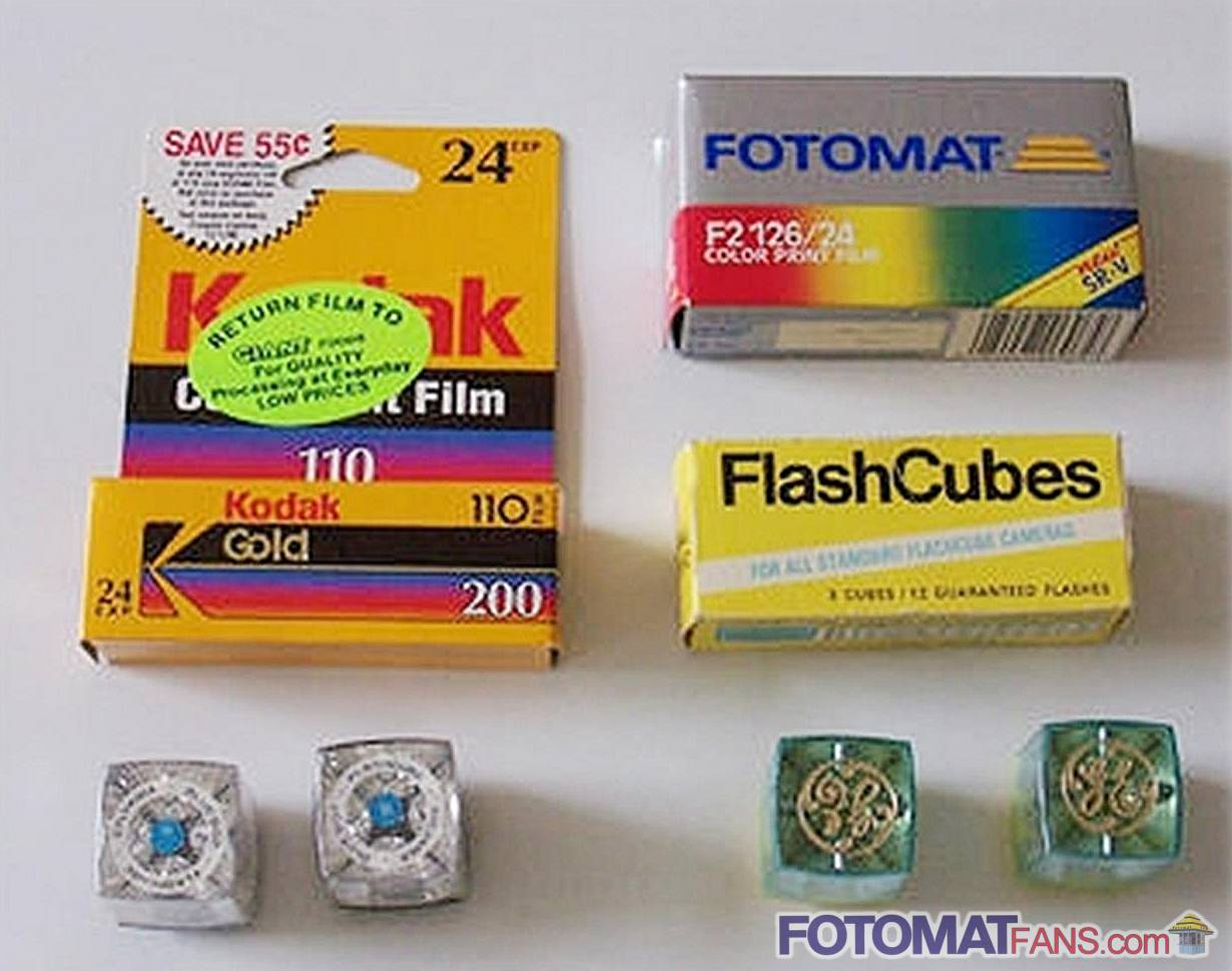 F2 126 film... 24 exposures! ...and don't forget the flash cubes!