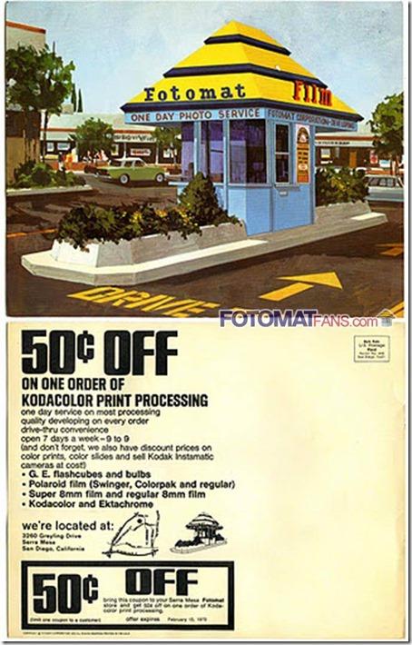 Fotomat post card