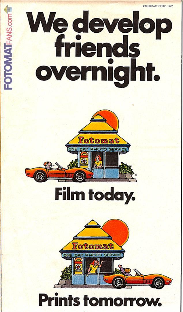 Friends overnight - 1972