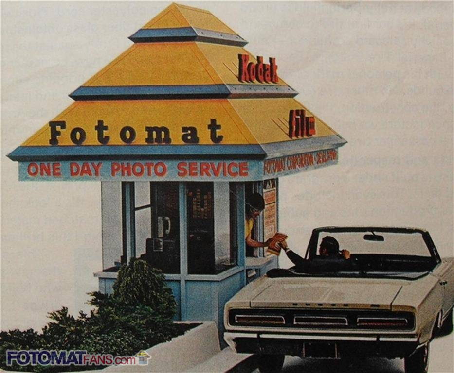 Fotomat Drive-thru Advertisement