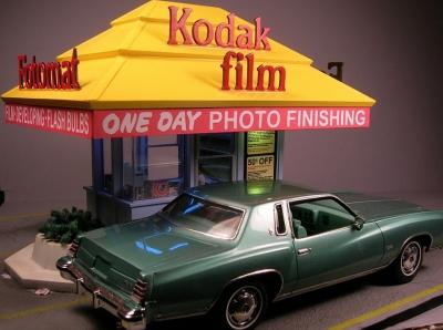 Thomas Ellifritt's Fotomat model