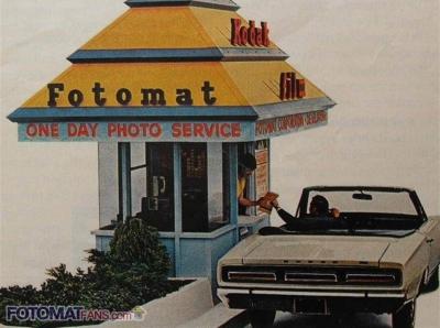 Fotomat Drive-thru Advertisement